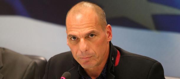 Handover ceremony of Yanis Varoufakis in Athens