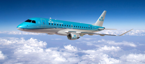 KLM_Purchases_Seventeen_Embraers_to_Replace_its_Fokker_7