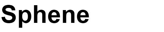 sphene