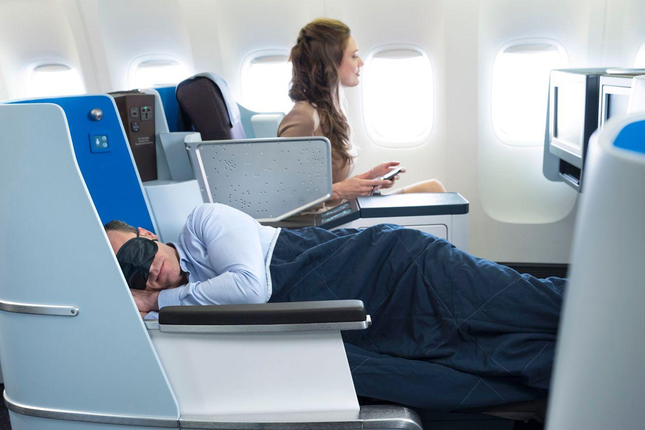World Business Class KLM