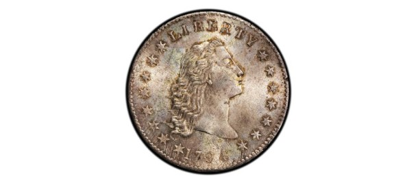 Coin Auction 1794 Flowing Silver Dollar
