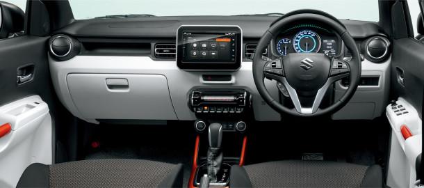 Orange Interior_Instrument Panel_HYBRID MZ_Safety Package_Navigation