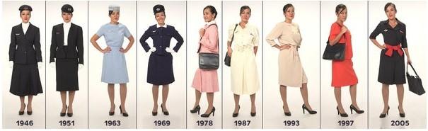 Stroje stewardes Air France