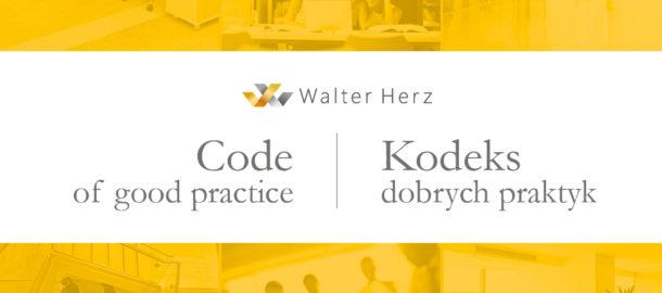 Kodeks dobrych praktyk Walter Herz