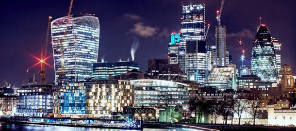 London skyline (Photo by Gordon Williams on Unsplash)