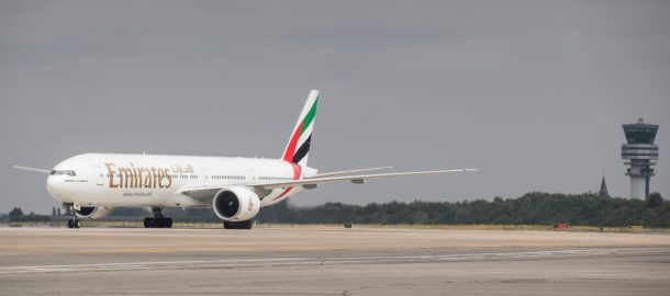 Emirates - Brussels Airport Belgium