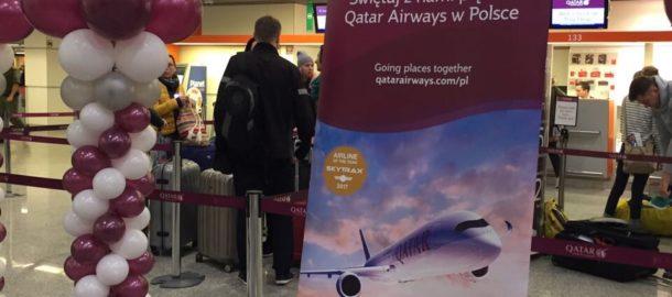 5 lat Qatar Airways w Polsce