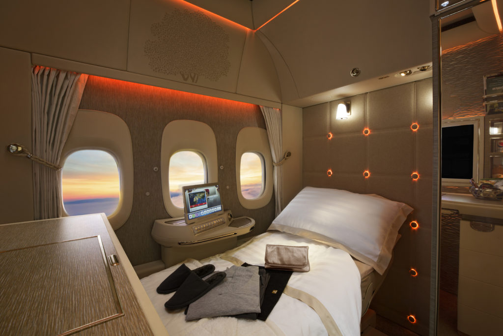 first_class_fully_flat_bed