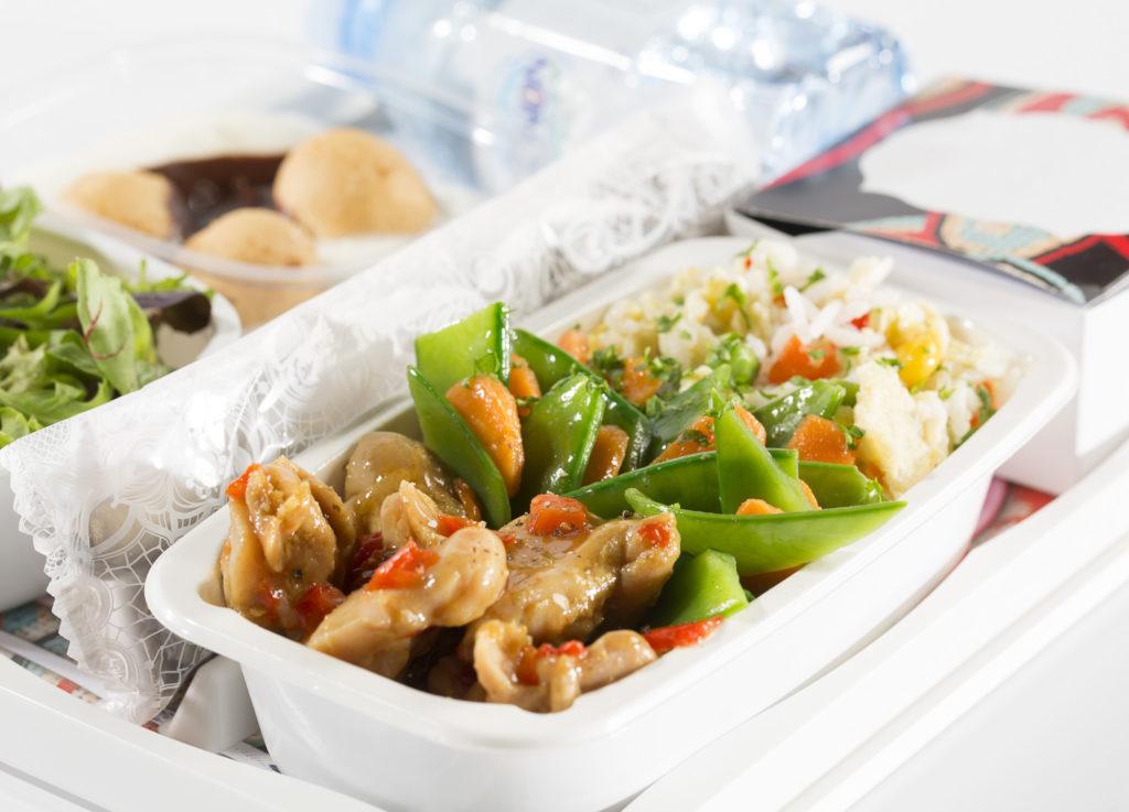posiłek KLM