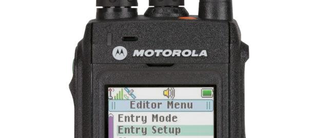 Motorola MTP3550 TETRA radio