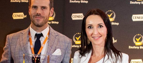 Odbiór nagrody przez Karola Tokarskiego, E-Commerce Directora w Komputronik S.A.