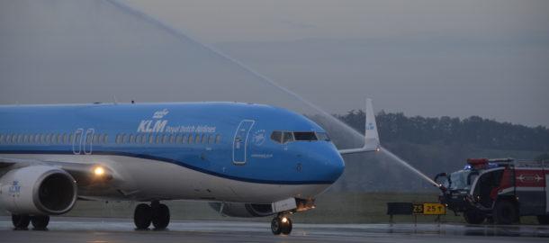 Samolot KLM Krakow Airport