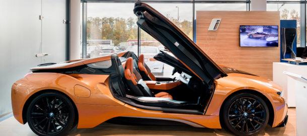 Manager24 Zobacz Najnowsze Bmw I8 Roadster W Salonach Inchcape