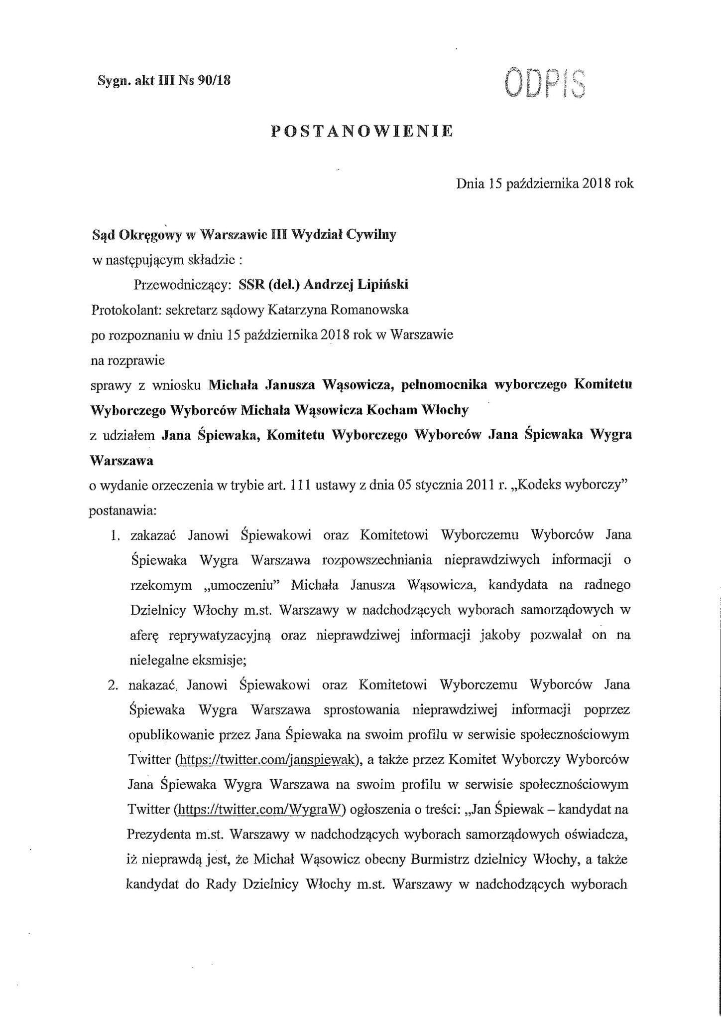 uzasadnienie III Ns 90-18-011str